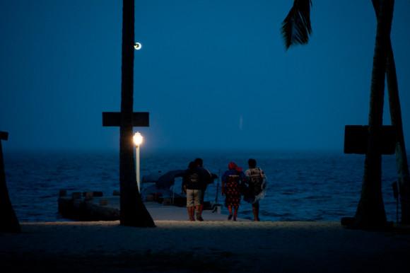 kuna-yala de noche