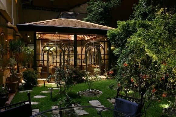 Jardín Mansión Alcázar
