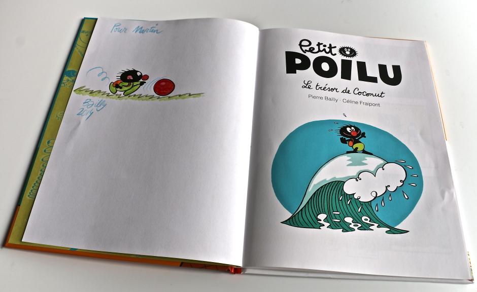 Dedicatoria Petit Poilu