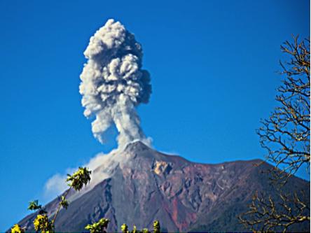 Volcan de fFego