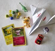 Cartas de Pokemon y otros tesoros